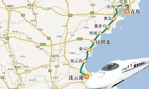 """青连铁路胶州湾大桥实现合龙,烟台与日照""""1.5小时经济圈""""来了"""