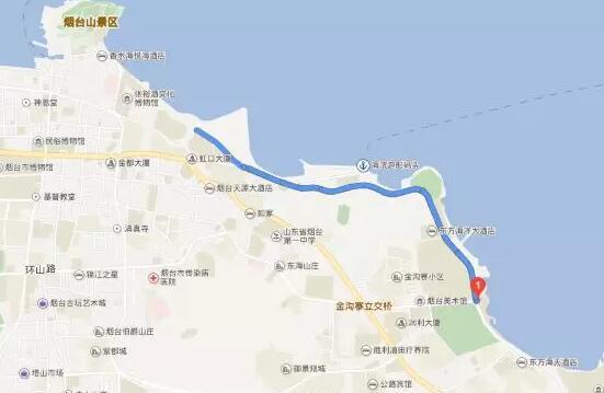 烟台滨海北路限速调整为70km/h,超速最高扣12分