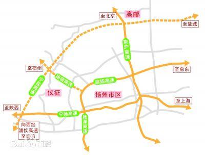 江苏盐城大丰地图_宁盐高速公路地图走向详情- 扬州本地宝