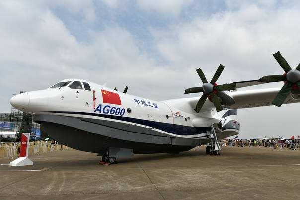 珠海造大型水陆两栖飞机ag600今年首飞