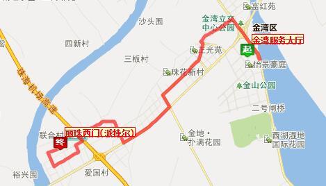 珠海微公交Z115路站点设置、线路图、票价
