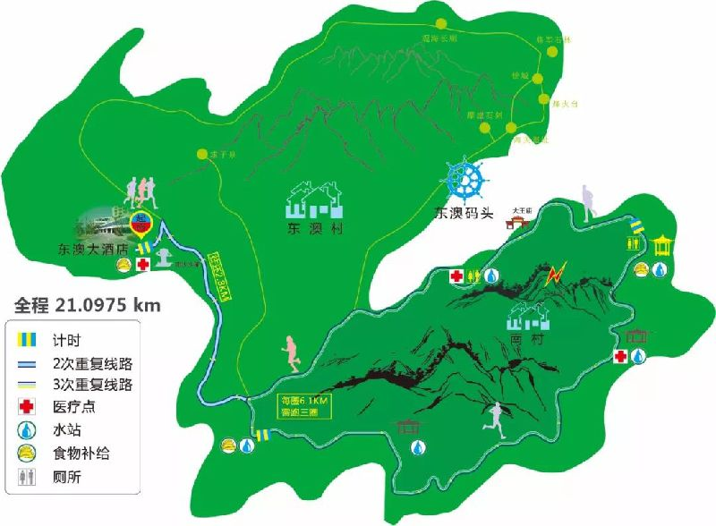 2018珠海东澳岛马拉松比赛项目