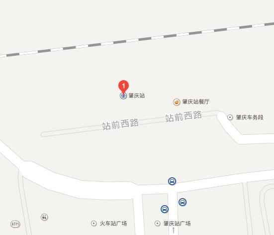如何到达肇庆火车站?