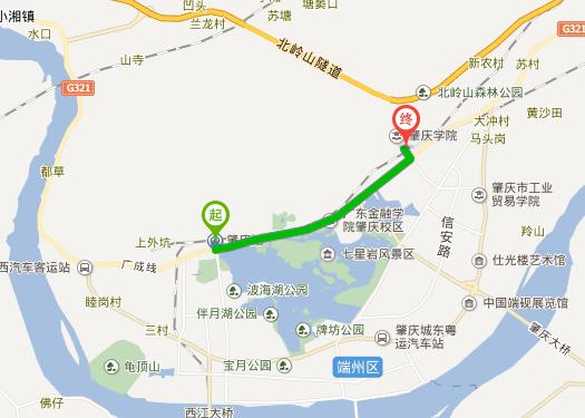 肇庆火车站到肇庆学院怎么走