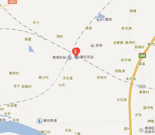 肇庆东站怎么走