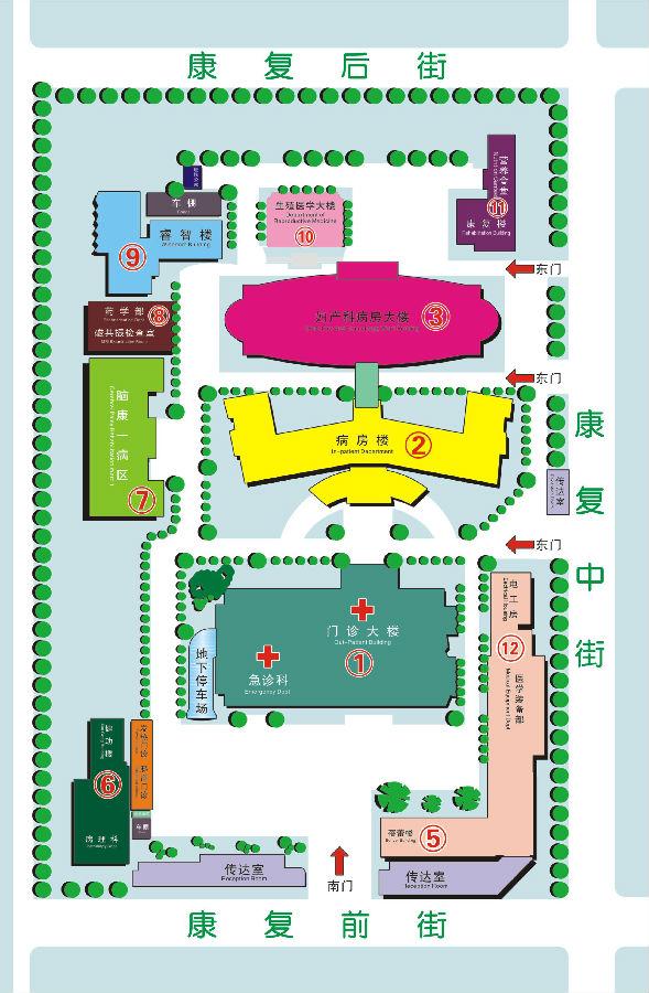 3楼:妇科门诊 妇科门诊手术室 儿童保健科 妇科门诊治疗区   4楼:检验图片